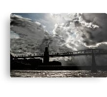 Millennium Bridge Metal Print