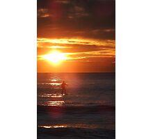 Sunrise Standup Paddle Photographic Print