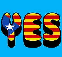Yes Catalonia by James Chetwald Mattson