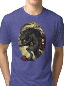 Merry Krampus Tri-blend T-Shirt