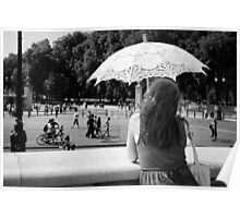 The Girl and the Parasol Poster
