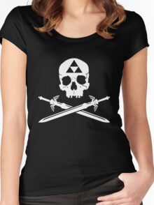 Pirates of the Hyrule Women's Fitted Scoop T-Shirt
