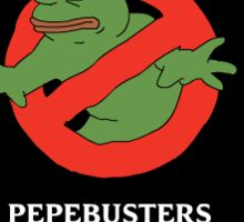 PEPE busters Sticker