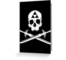 Pirates of the Hyrule Greeting Card
