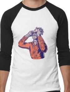 Moderat #HD Men's Baseball ¾ T-Shirt