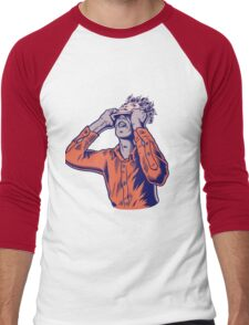Moderat #HD Men's Baseball ¾ T-Shirt