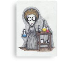madame curie Canvas Print