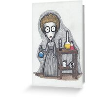 madame curie Greeting Card