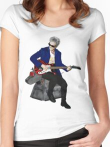 The 12th Doctor and K-9 Women's Fitted Scoop T-Shirt
