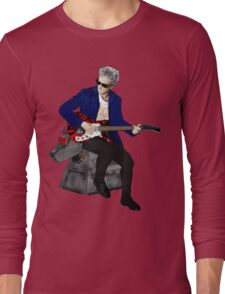 The 12th Doctor and K-9 Long Sleeve T-Shirt