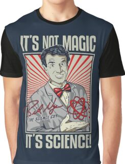 """Official Bill Nye """"It's Science"""" Tee Graphic T-Shirt"""