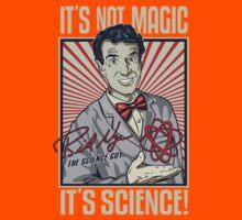 "Official Bill Nye ""It's Science"" Tee Kids Tee"