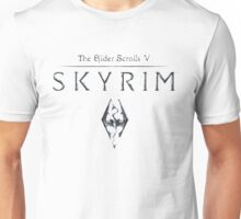Skyrim The Elder Scrolls V Unisex T-Shirt