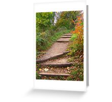 Autumn Trails Greeting Card