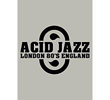 Acid jazz london black color Photographic Print
