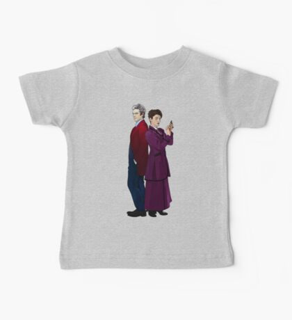 Missy and The Doctor Baby Tee
