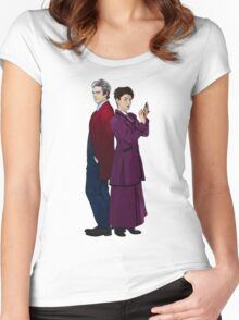 Missy and The Doctor Women's Fitted Scoop T-Shirt