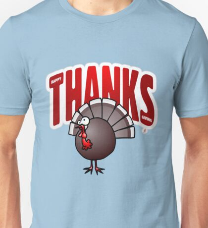 Thanksgiving Day Turkey Unisex T-Shirt