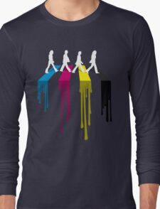 Abbey CMYK Long Sleeve T-Shirt