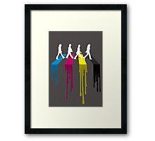 Abbey CMYK Framed Print