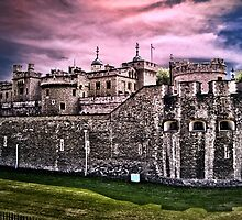 The Tower of London by LudaNayvelt