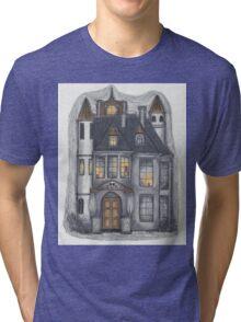 pendle hall gatehouse Tri-blend T-Shirt