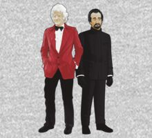 Doctor Who - Third Doctor and The Master One Piece - Short Sleeve