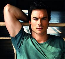 Ian Somerhalder Hot by Speeros