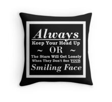 The Stars Think You're Beautiful Throw Pillow