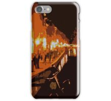 Amsterdam by Night (Cutout) iPhone Case/Skin