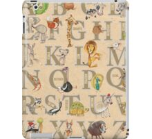 ABC Animals (with names) iPad Case/Skin