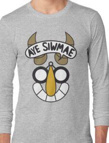 Aye Siwmae - Helm of Goofy Smiles Long Sleeve T-Shirt
