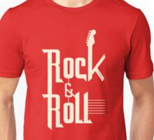Old Rock & Roll white color Unisex T-Shirt