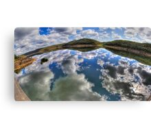 Dam Sydney - Mirror Reflection - Panorama Canvas Print