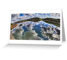 Dam Sydney - Mirror Reflection - Panorama Greeting Card