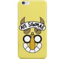 Aye Siwmae - Helm of Goofy Smiles iPhone Case/Skin