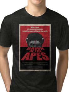 Dawn of the Apes poster parody Tri-blend T-Shirt