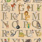 Animal ABCs by busymockingbird