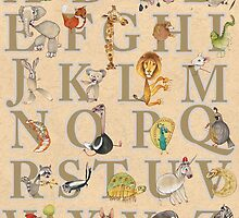 Animal ABCs by busymockingbird