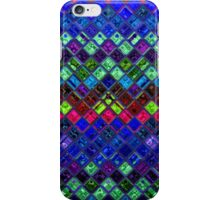 Stained Glass Mosaic Pattern Abstract Art #2 iPhone Case/Skin