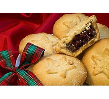 Mince Pies Photographic Print