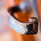 Rusty Old Door Handle by Ellesscee