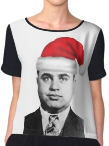 Al Capone - Merry Christmas! Chiffon Top