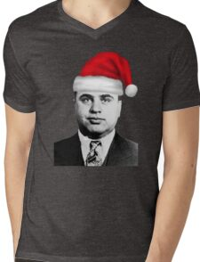 Al Capone - Merry Christmas! Mens V-Neck T-Shirt