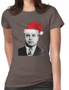 Al Capone - Merry Christmas! Womens Fitted T-Shirt