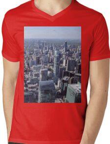Toronto Skyscrapers Mens V-Neck T-Shirt
