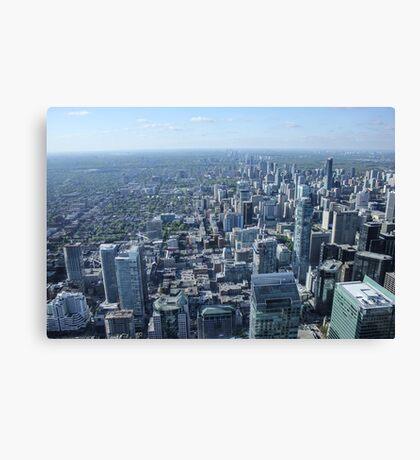 Toronto Skyscrapers Canvas Print