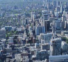 Toronto Skyscrapers Sticker