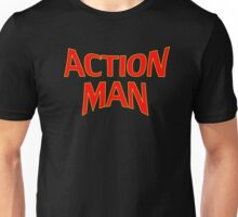 Cartoon Action Man T-Shirt Unisex T-Shirt
