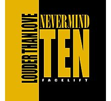 Nevermind Ten Facelift Louder than the Sound Grunge albums Photographic Print